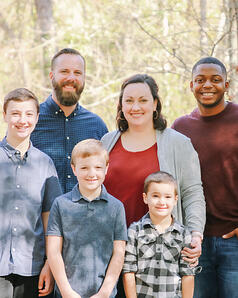Scarbrough Family Picture